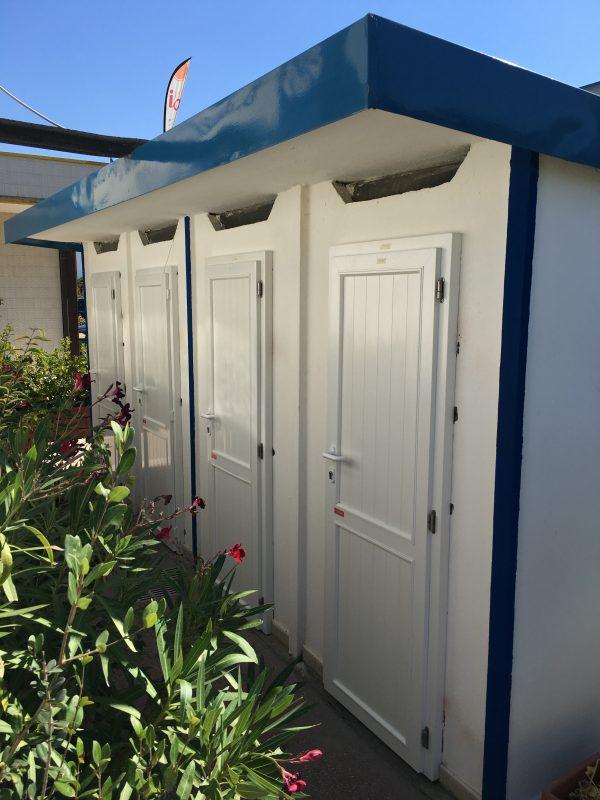 Porte per stabilimenti balneari