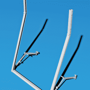 Telai a Sporgere in Alluminio